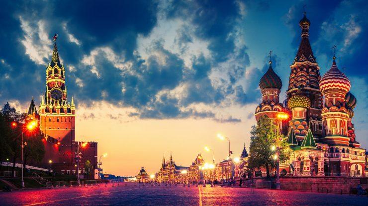 Russia Moscow city Red square Cathedral Kremlin night lights 1920x1080 740x415 - Подмочили репутацию: Москва заняла последнее место в рейтинге городов мира